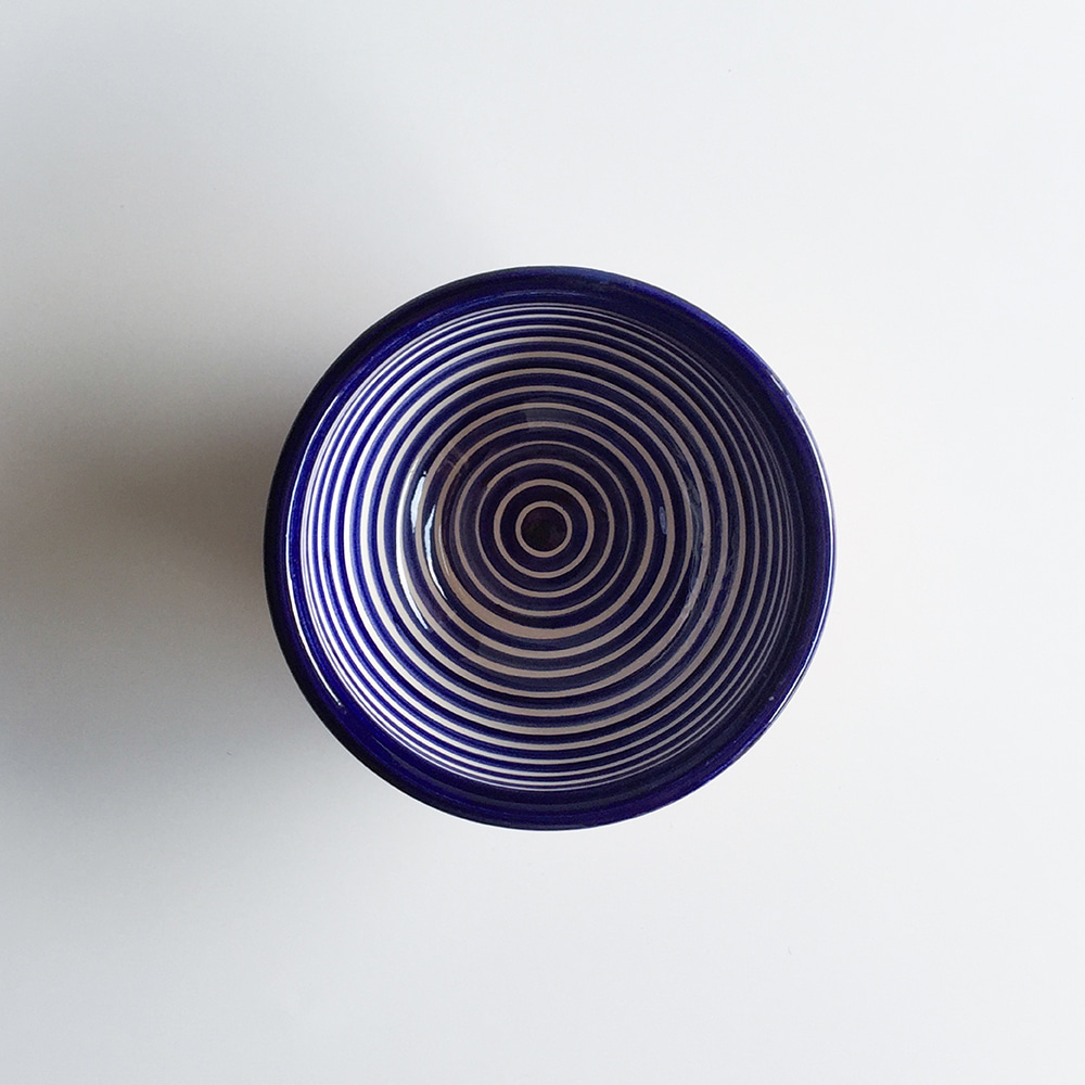 [CASA CUBISTA] Classic stripe everyday bowls_Blue