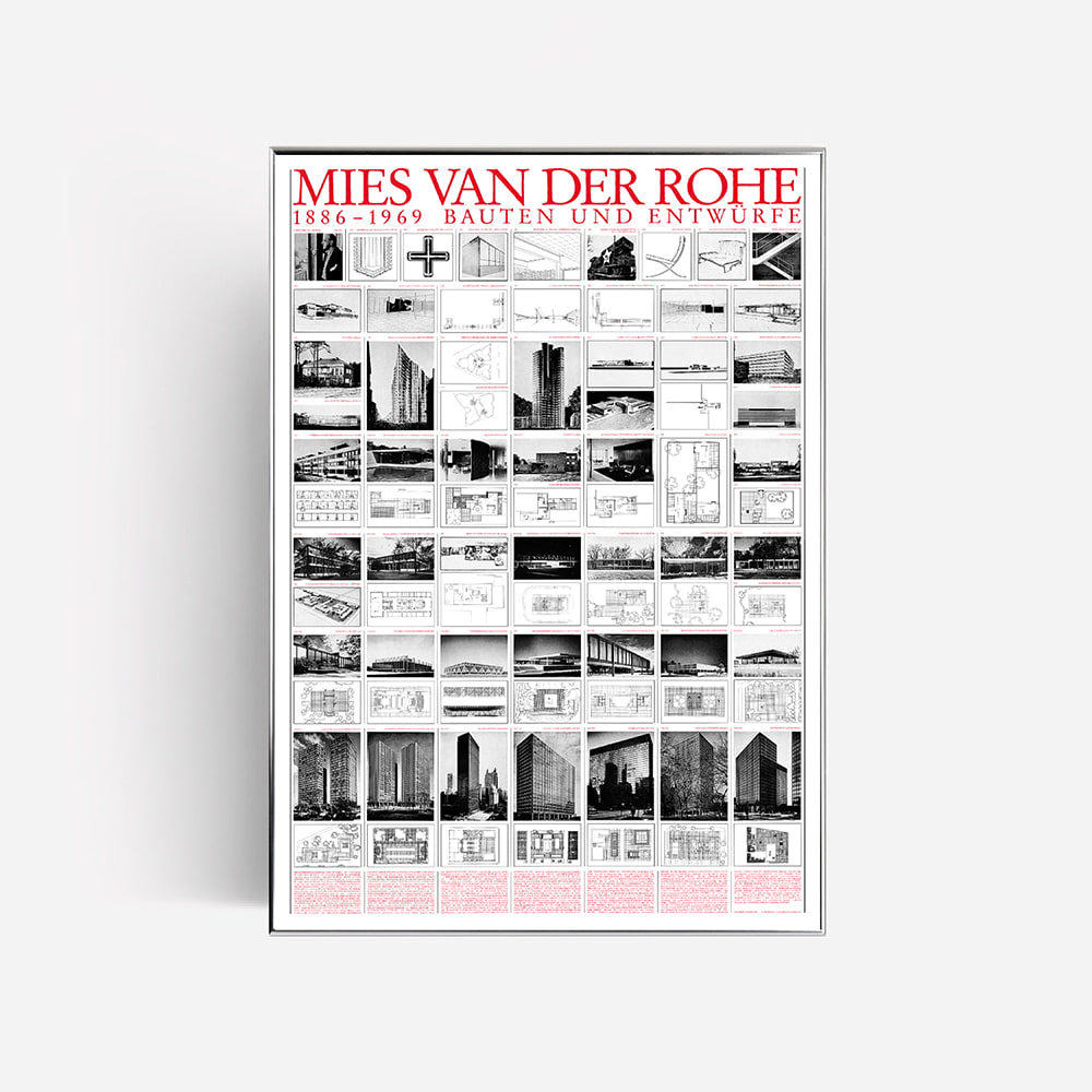 [MIES VAN DER ROHE] Planned and Unfinished Buildings