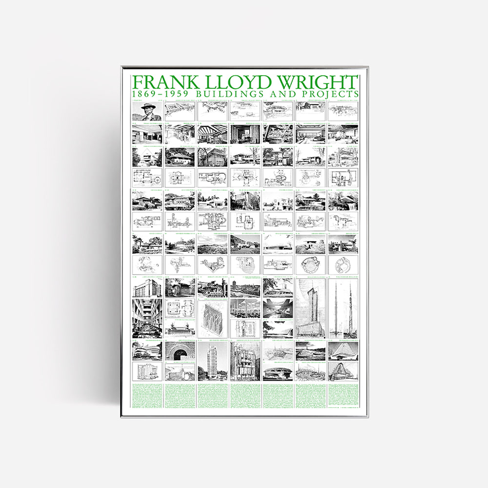 [FRANK LLOYD WRIGHT] Buildings and Projects, 1869-1959