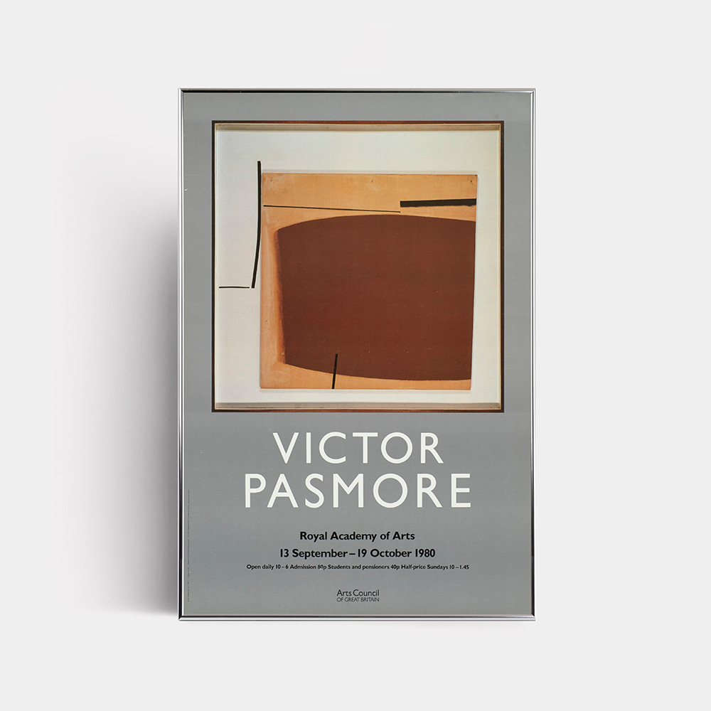 [VICTOR PASMORE] Victor Pasmore's exhibition in 1980