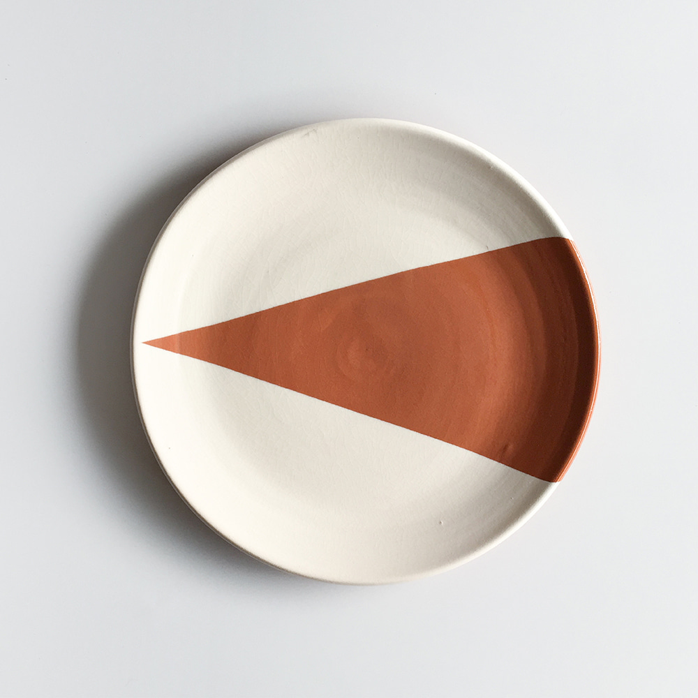 [CASA CUBISTA] Triangle plates small