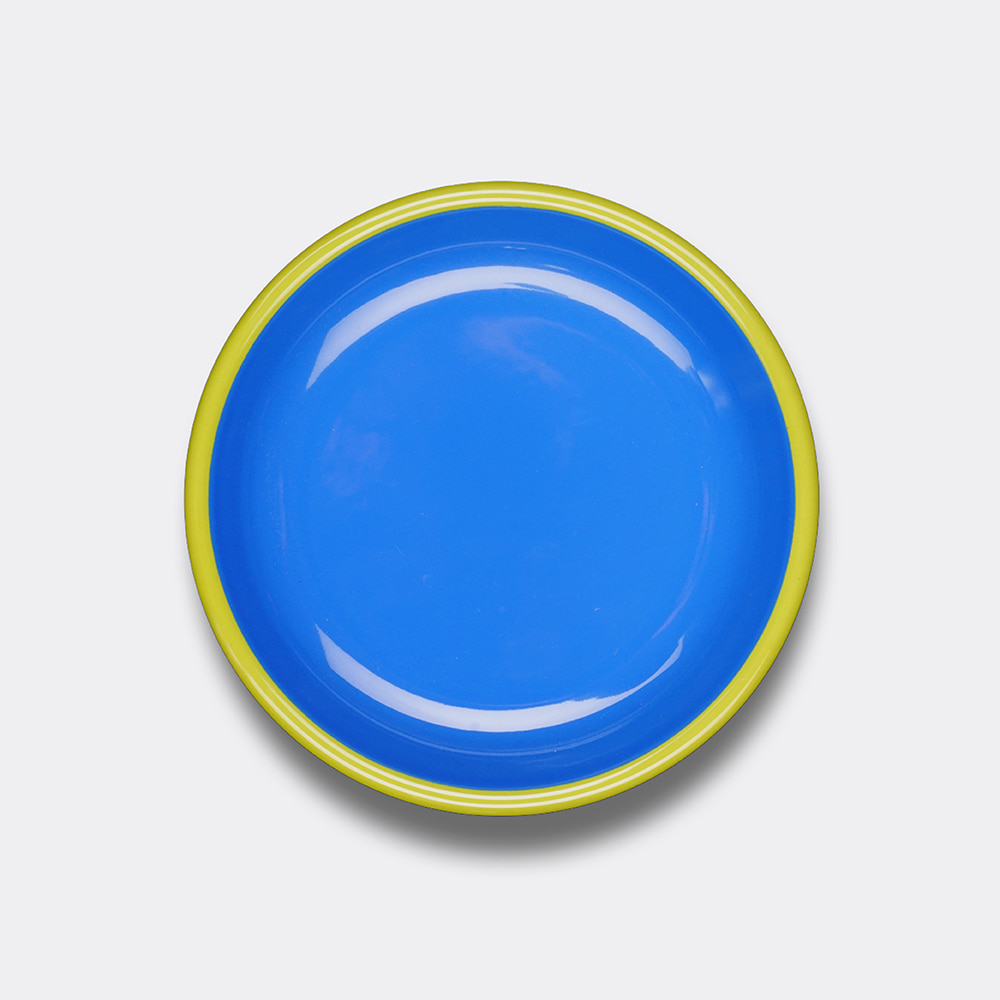 [BORNN] Colorama Plate- Blue