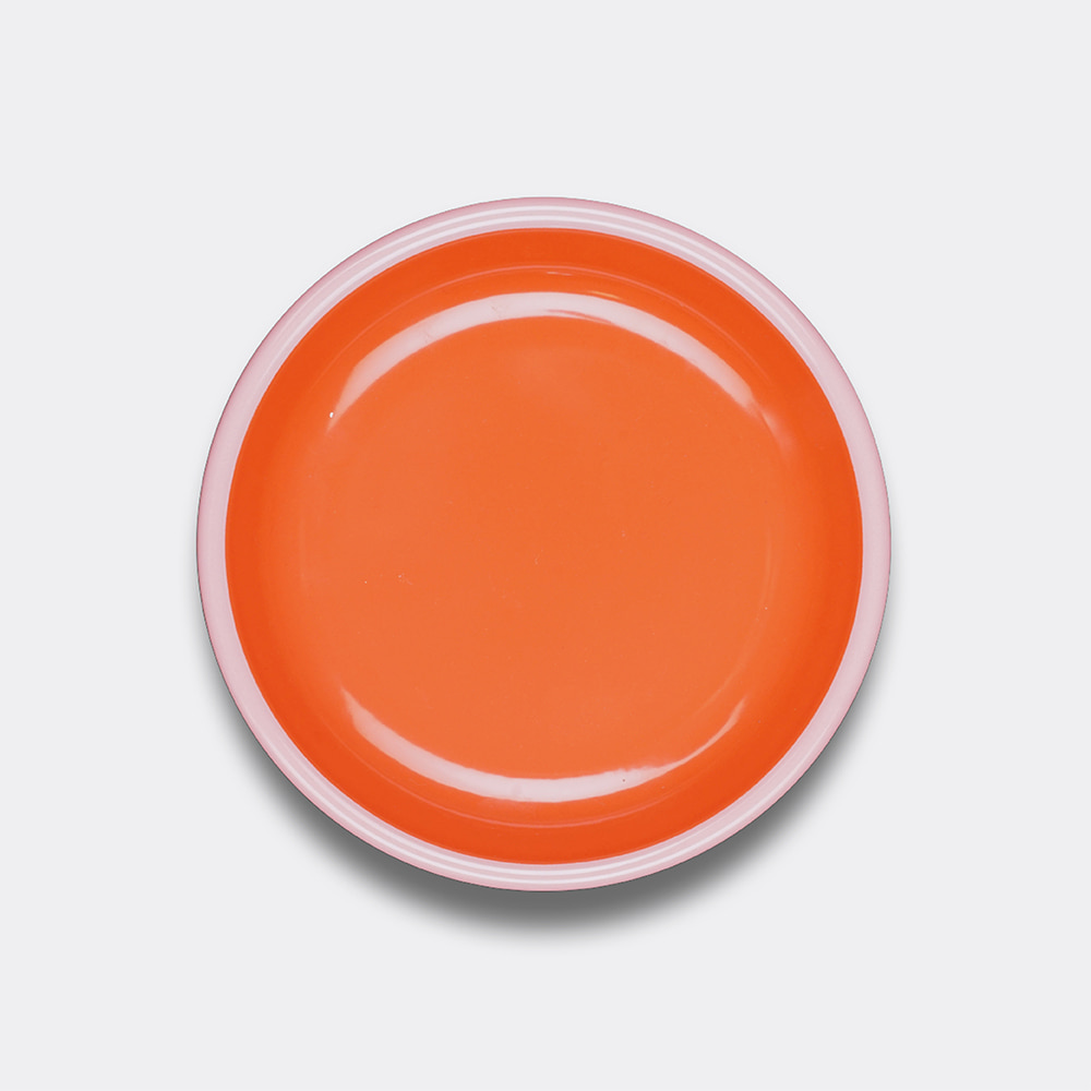 [BORNN] Colorama Plate- Orange