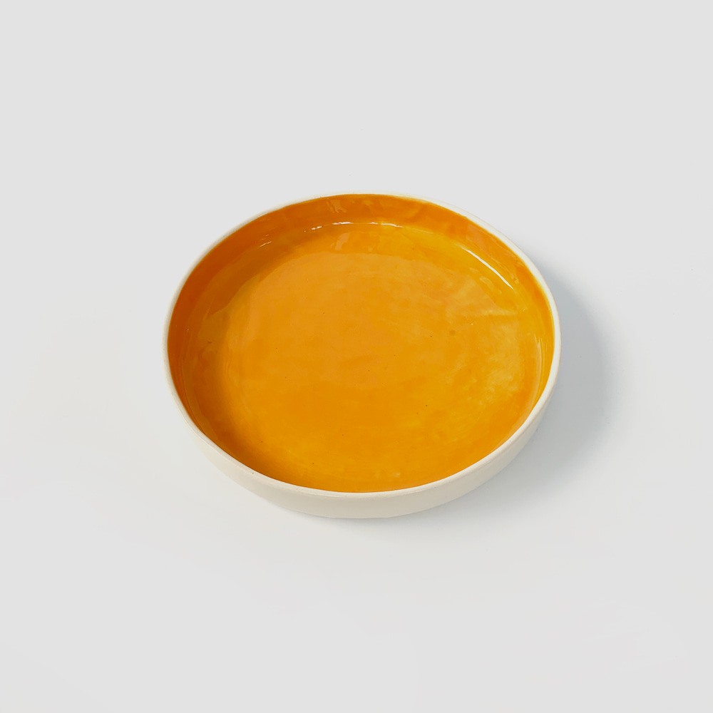 [ABS OBJECTS] Medium Plate_Orange