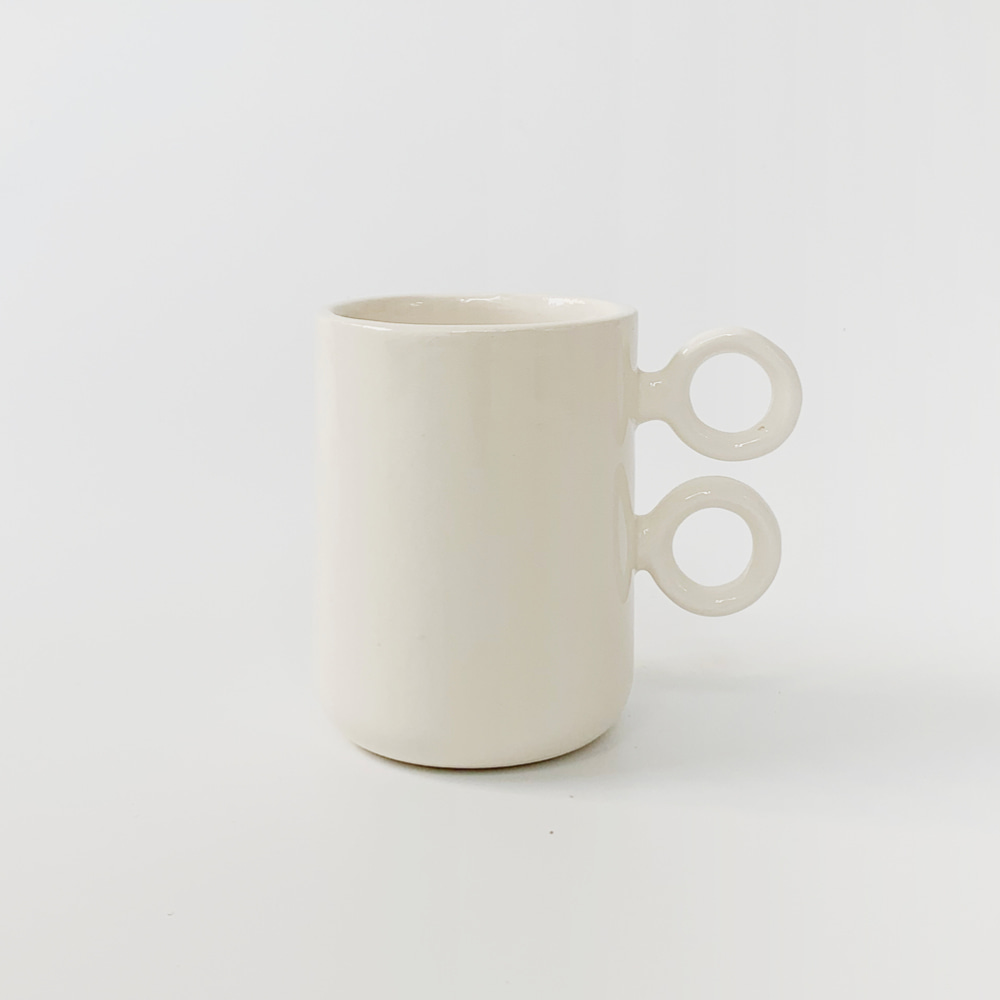 [ABS OBJECTS] Scissor Mug - White